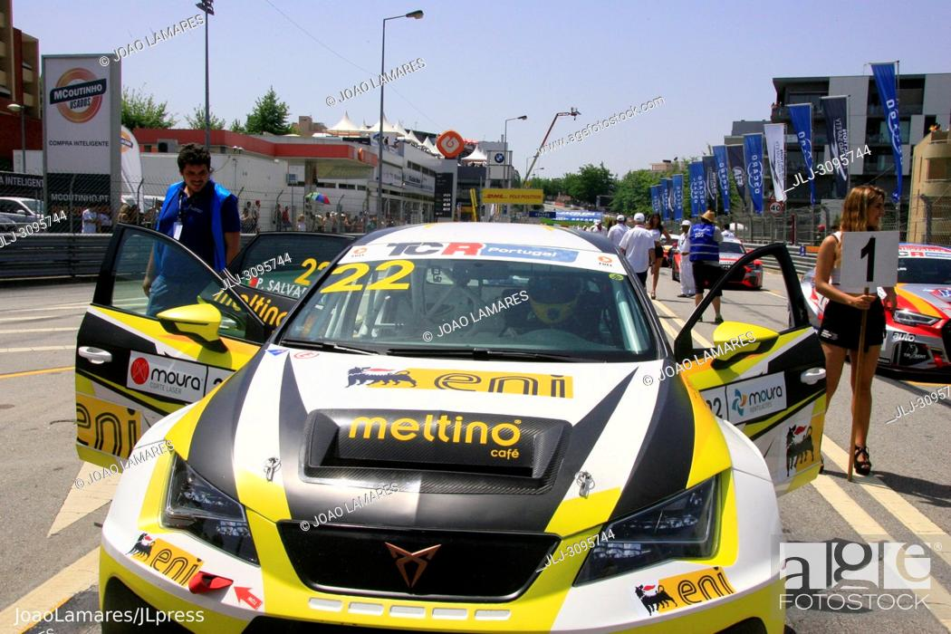 Stock Photo: Pedro Salvador, Cupra TCR #22, Vila Real, Portugal..