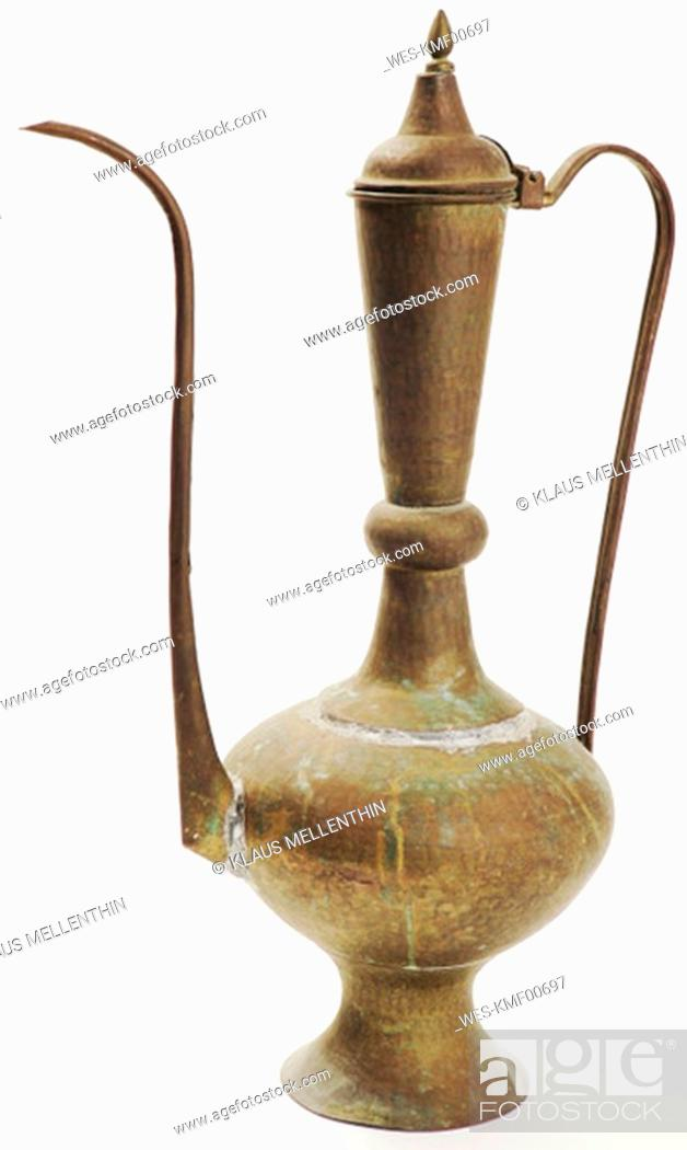 Stock Photo: Arabian oilcan, close-up.