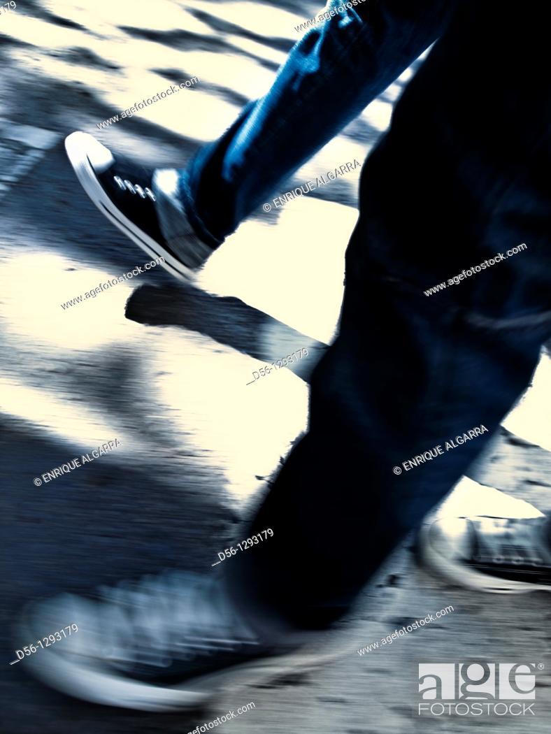 Stock Photo: legs.