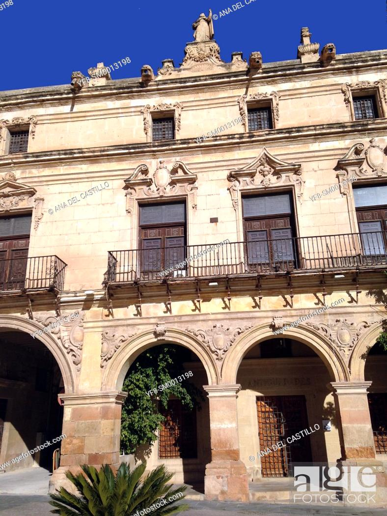 Stock Photo: Lorca, Murcia Province, Spain.