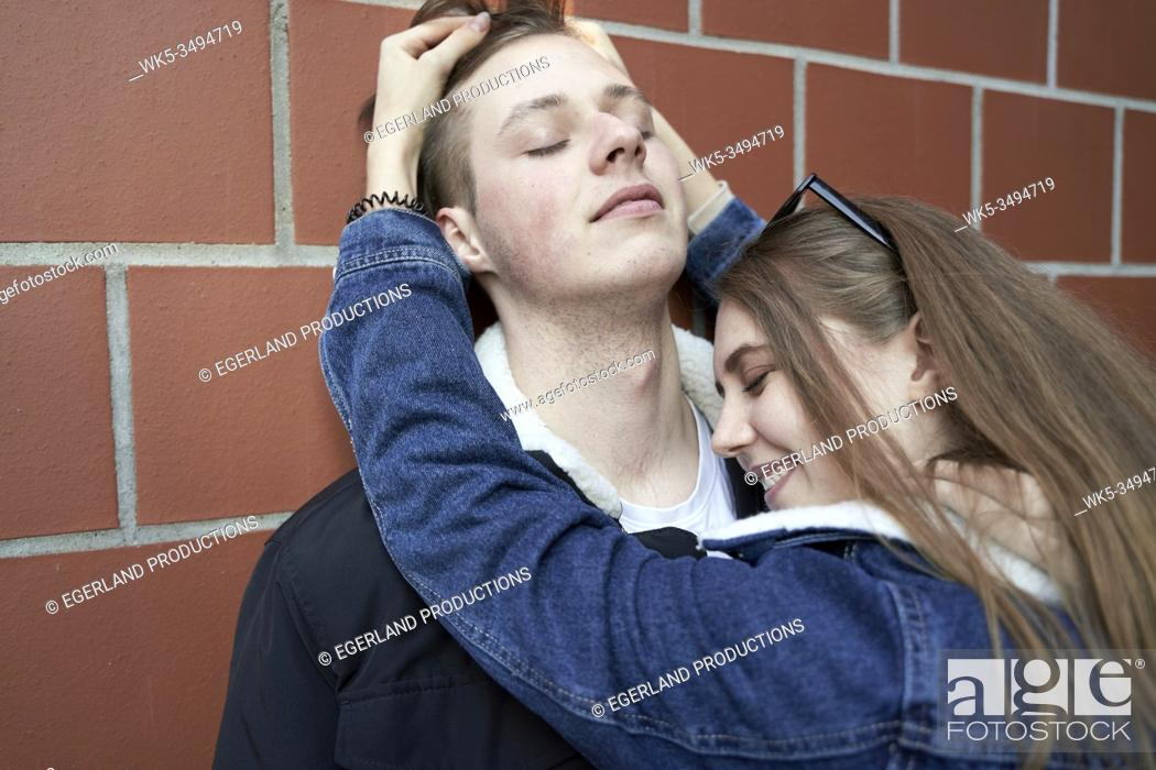 Stock Photo: playful love.