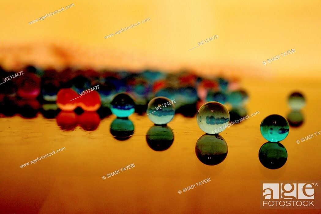 Stock Photo: little balls making an abstract used for background.