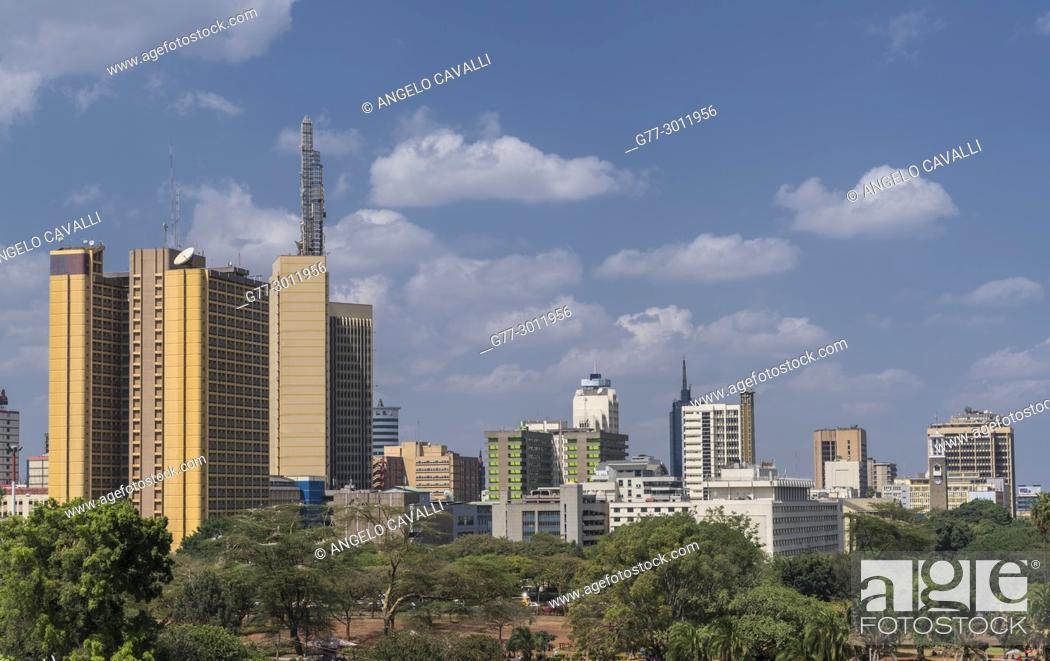 Stock Photo: Africa. Kenya. Nairobi,.