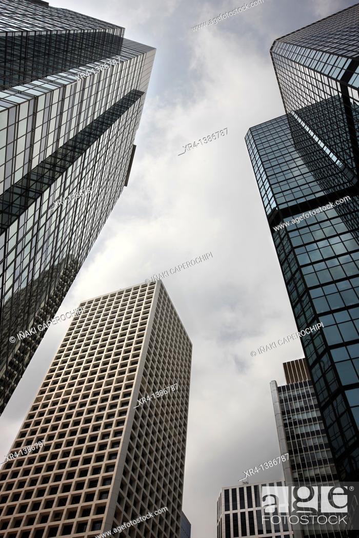 Stock Photo: Skyscraper, Hong Kong Island, Hong Kong, China.