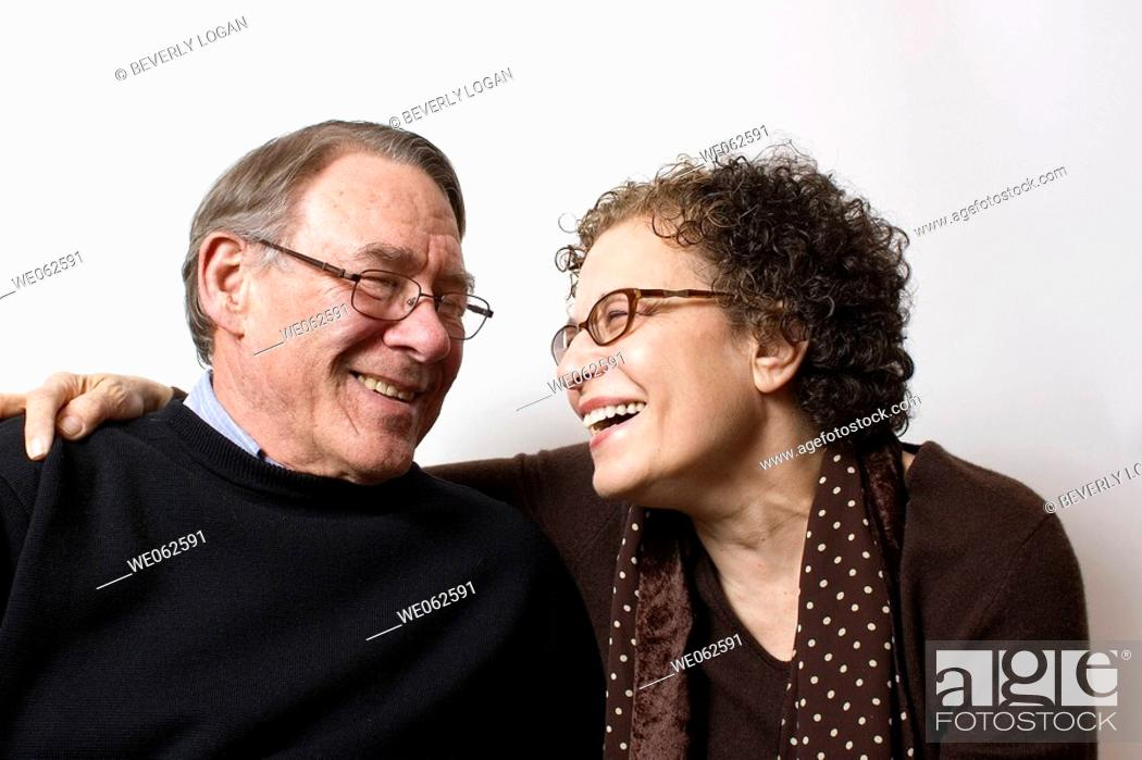 Stock Photo: Sixty-year-old couple.