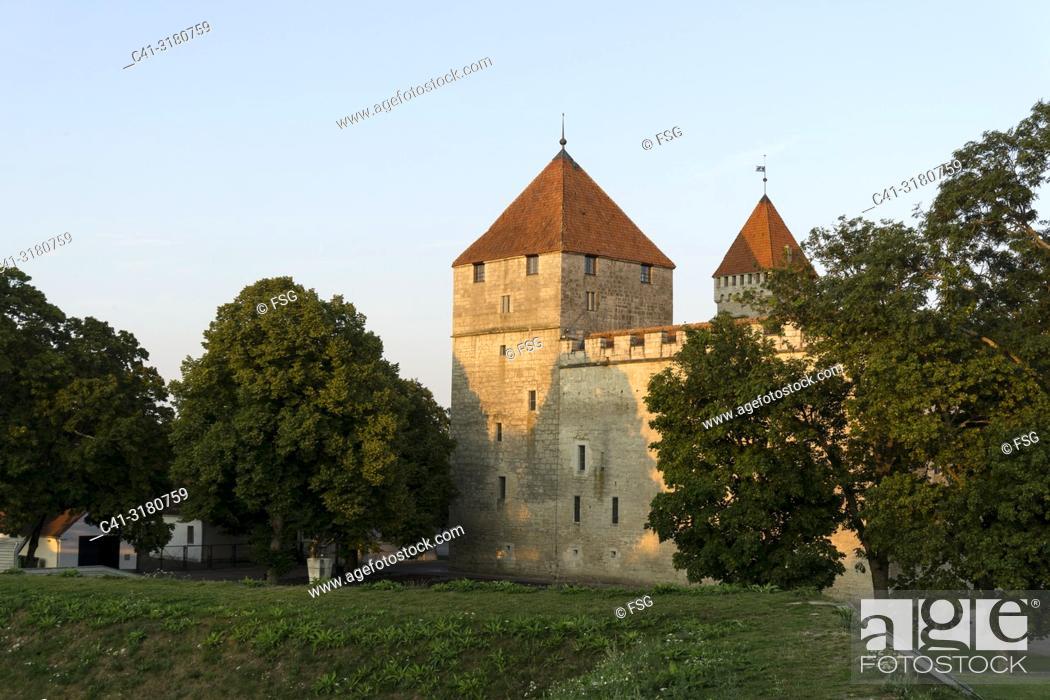 Stock Photo: Kuressaare Castle. Saaremaa. Estonia.