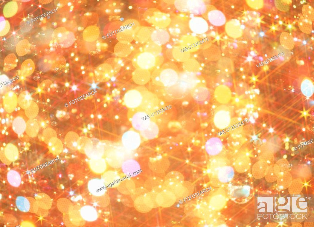 Stock Photo: Christmas Lights.