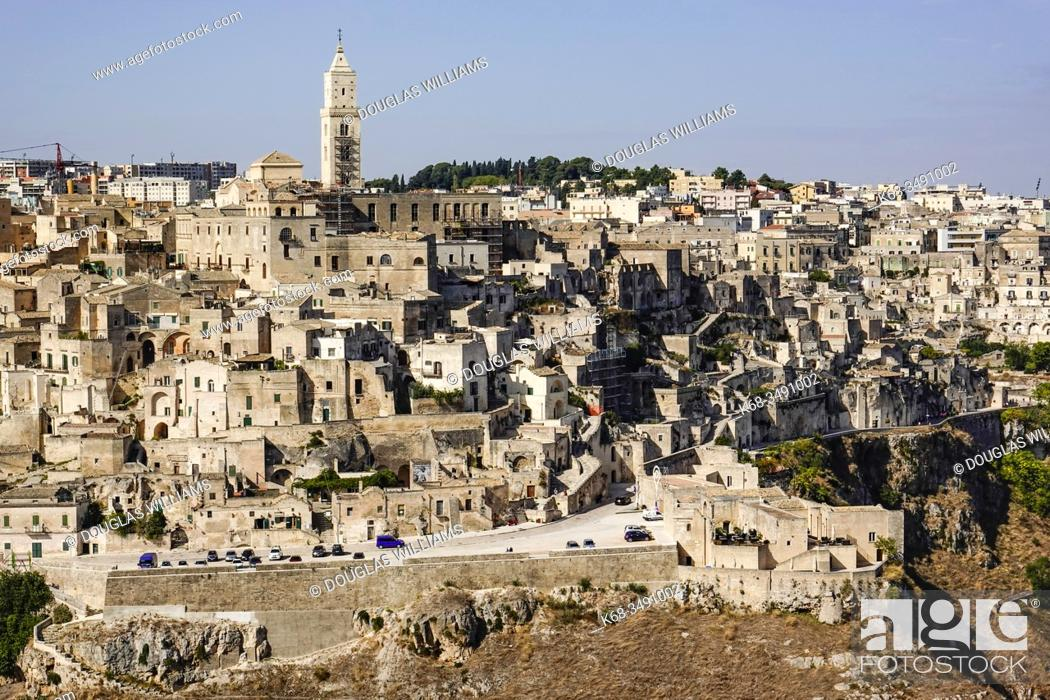 Stock Photo: Matera, Basilicata, Italy.