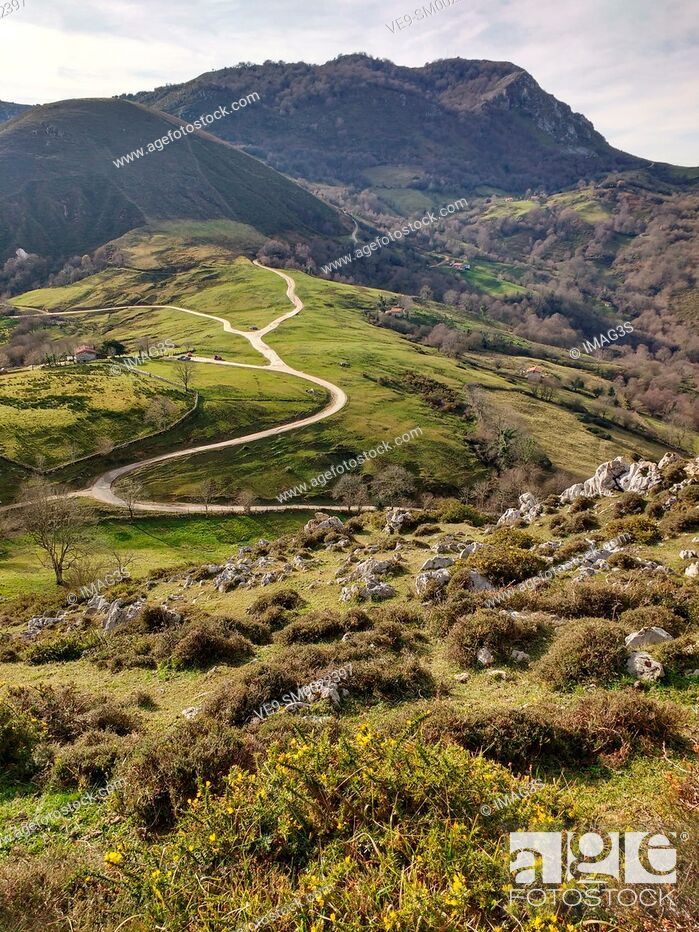 Imagen: Les Praeres, Sierra de Peñamayor, Nava, Asturias, Spain.
