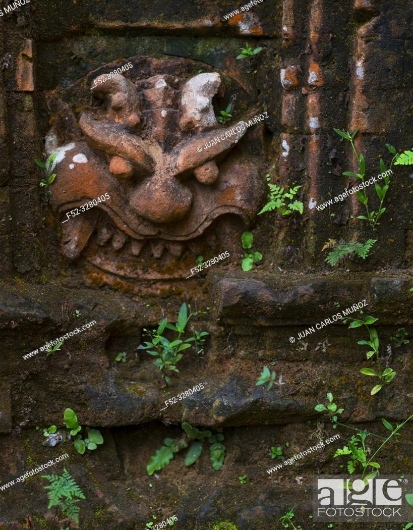Stock Photo: My Son Sanctuary, Hindu Temples, Unesco World Heritage, Quan Nam Province, Vietnam, Asia.