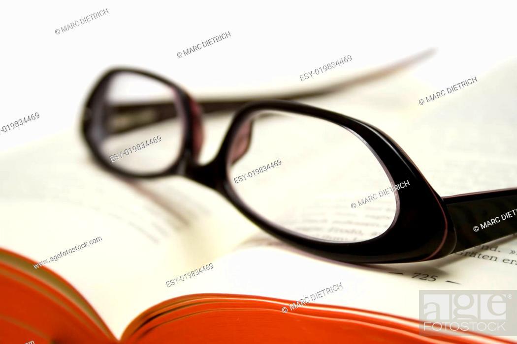 Stock Photo: Literatur.
