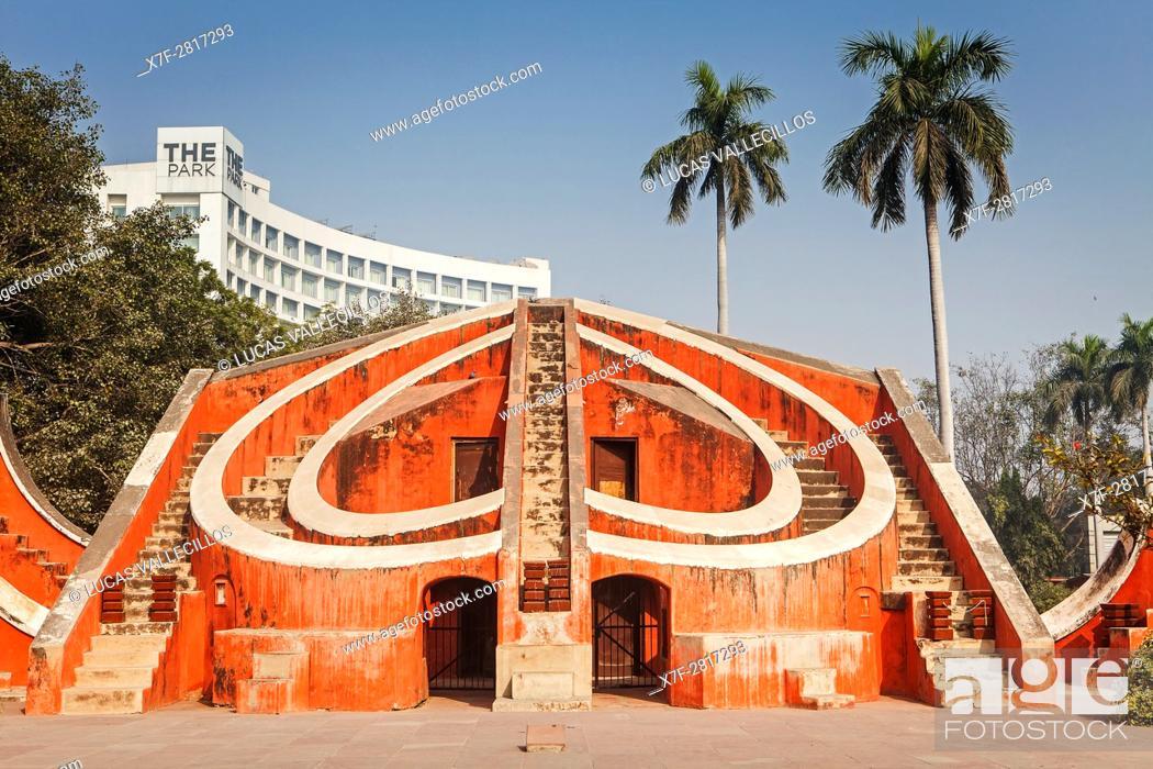 Stock Photo: Jantar Mantar, Delhi, India.