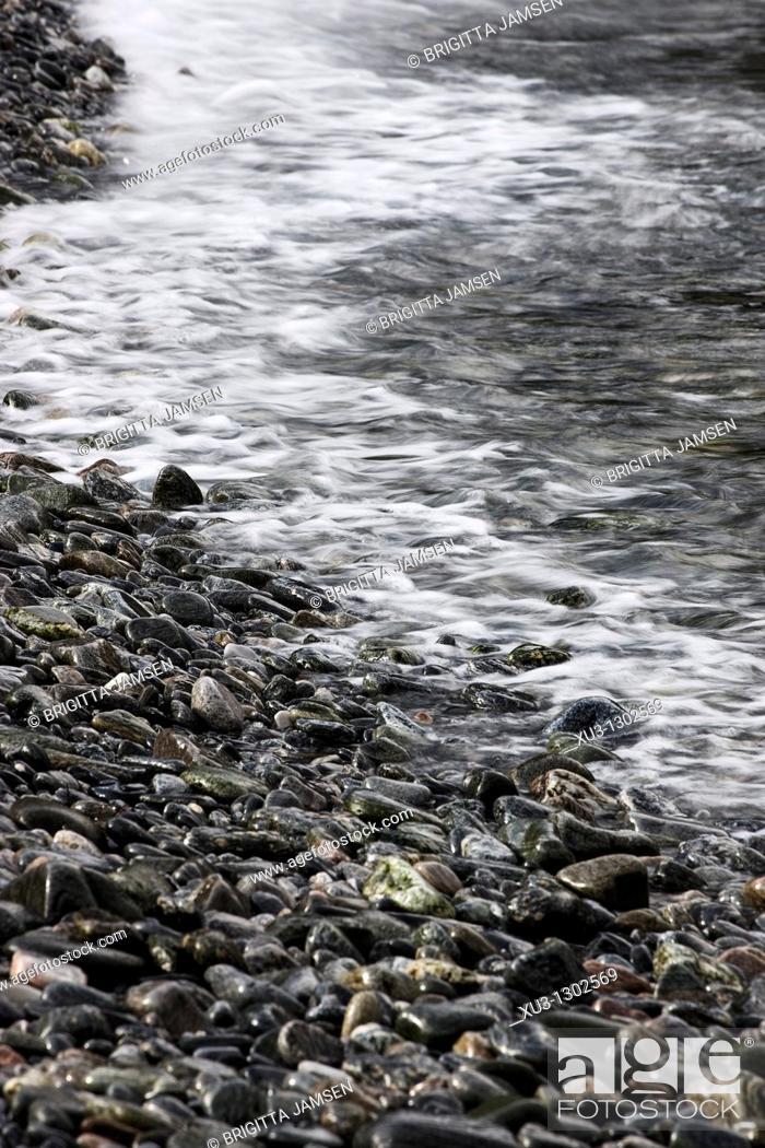 Stock Photo: Coastal scene, Norway.