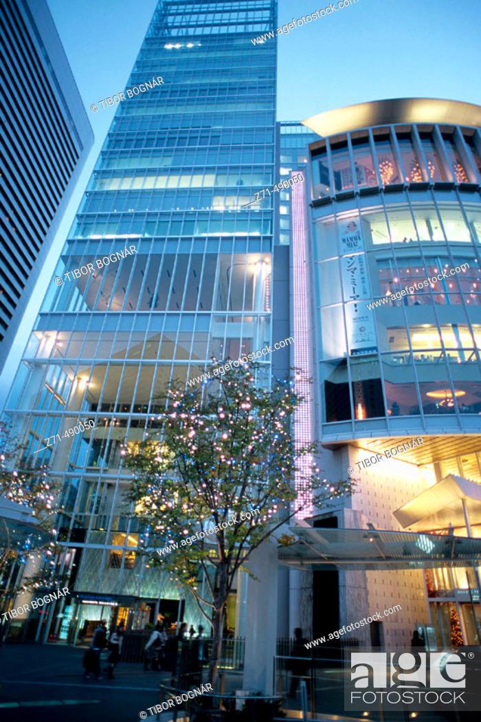 Stock Photo: Street scene, Kita business and shopping district, Osaka. Japan.