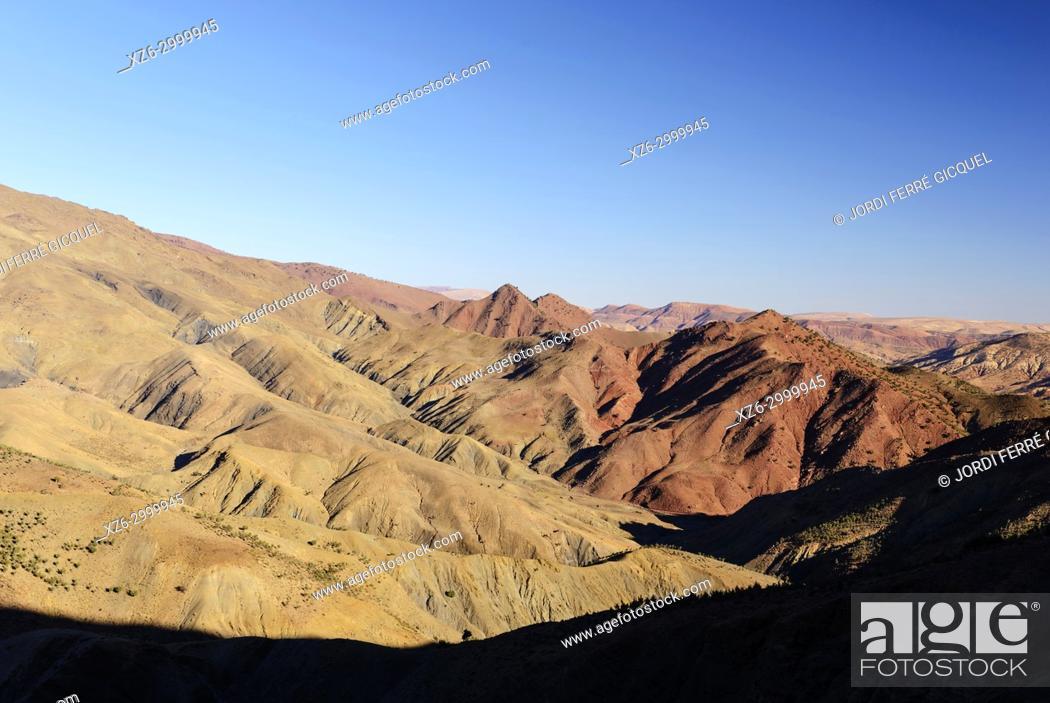 Imagen: Atlas Mountains, Morocco, Africa.