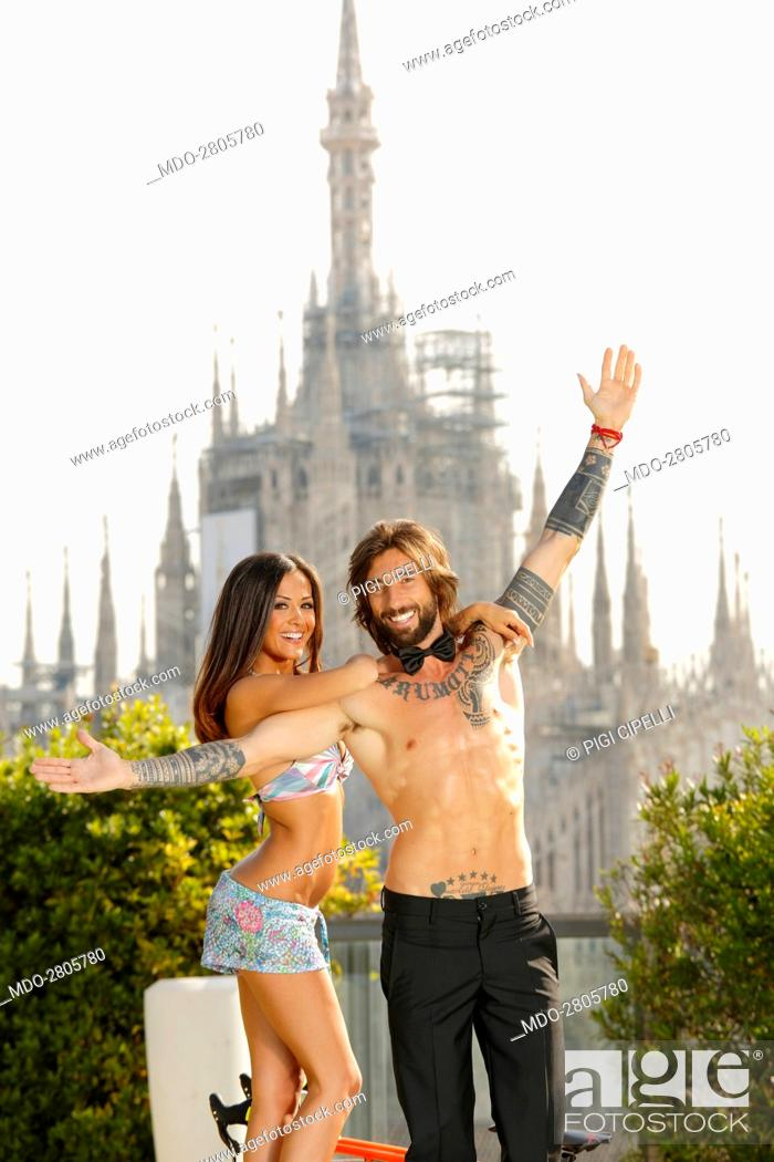 The Bike Trial Champion Vittorio Brumotti And The Showgirl Giorgia