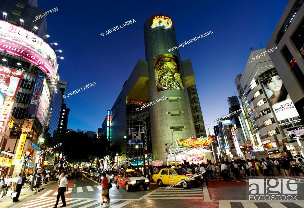 Stock Photo: Shibuya, Tokyo, Japan.