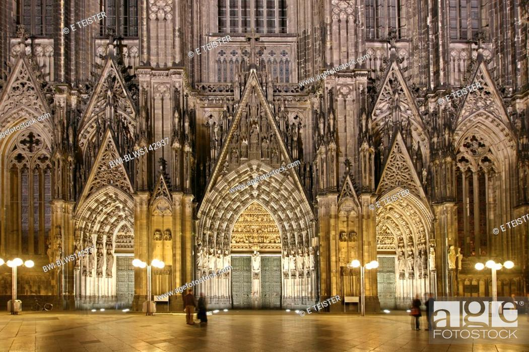 Portal Koelner Dom Cologne Cathedral Germany North Rhine Westphalia Koeln Stock Photo Picture And Rights Managed Image Pic Bwi Blws142937 Agefotostock