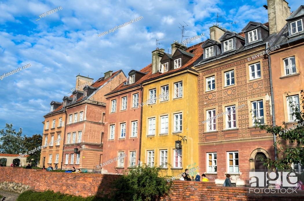 Stock Photo: Old Town, Warsaw, Poland.