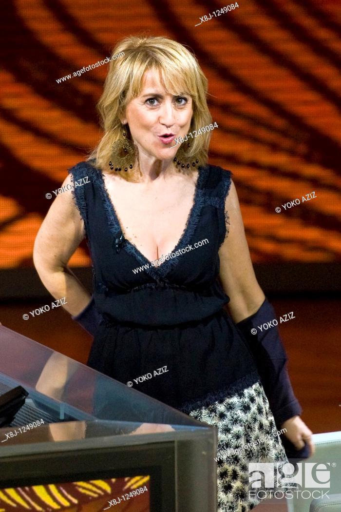 Imagen: 31 10 2010, Milan, 'Che tempo che fa' telecast, Luciana Littizzetto.