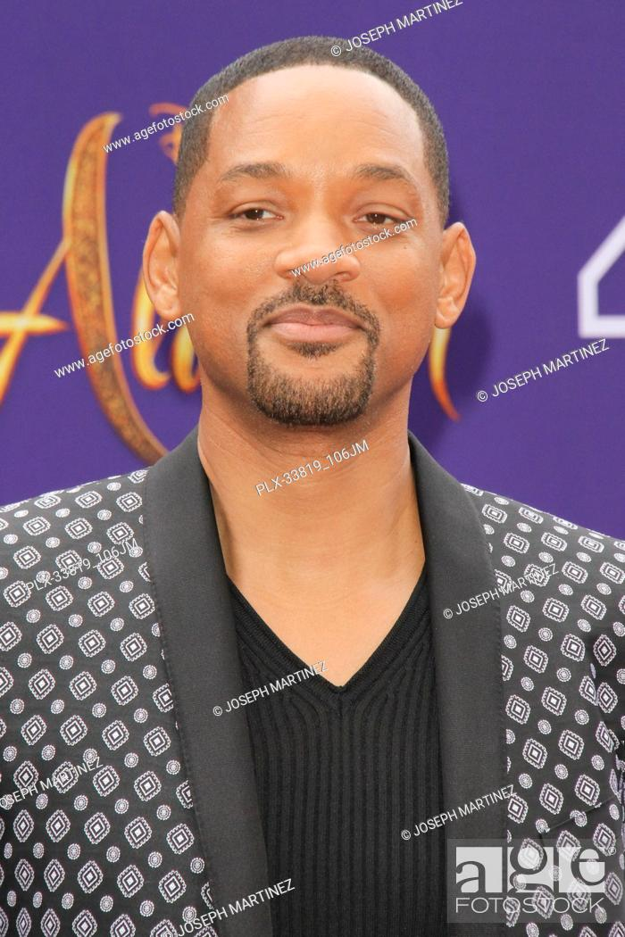 """Imagen: Will Smith at The World Premiere of Disney's """"""""Aladdin"""""""" held at El Capitan Theatre, Hollywood, CA, May 21, 2019. Photo Credit: Joseph Martinez / PictureLux."""