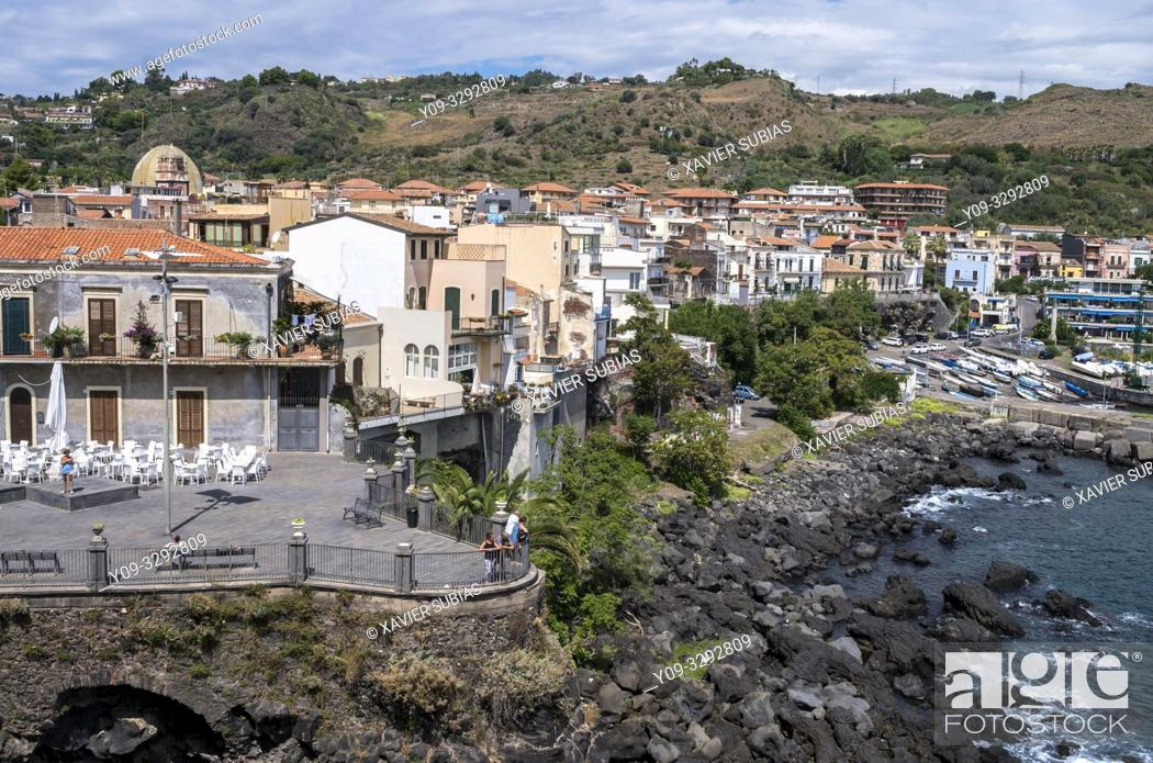 Stock Photo: Aci Castello, Catania, Sicily, Italy.