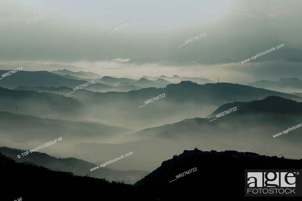 Stock Photo: Mountain Mist.