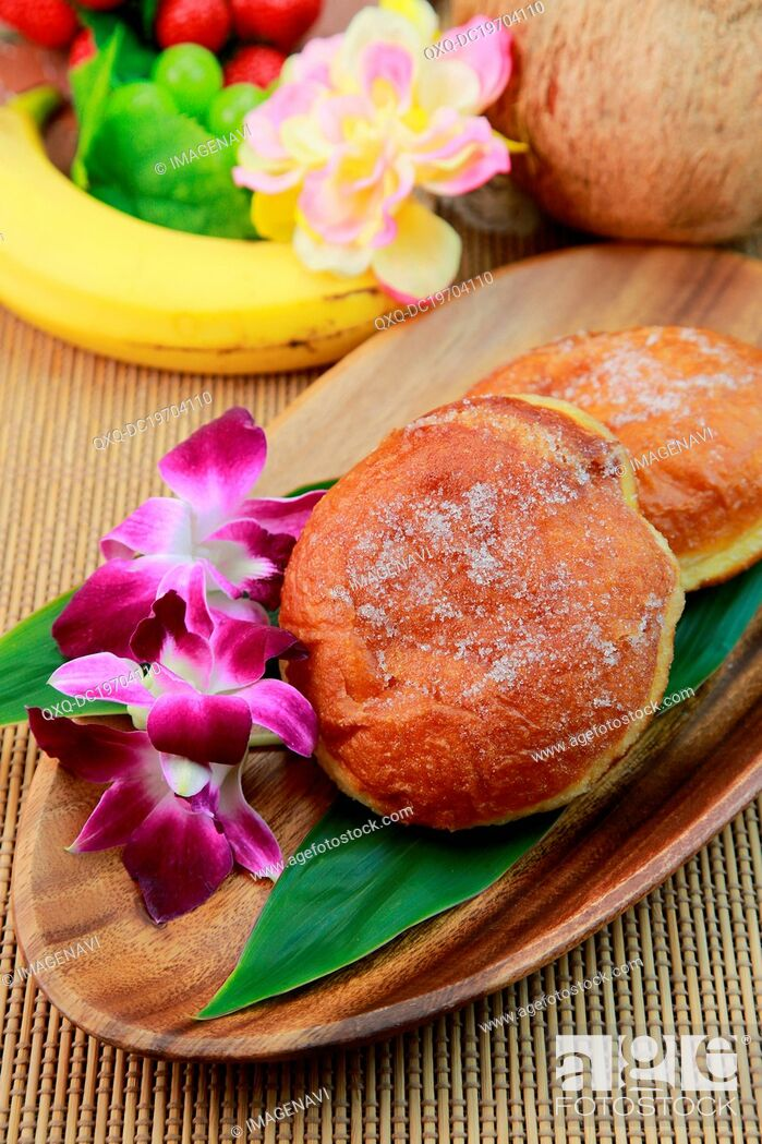 Stock Photo: Malasadas (portuguese donuts).