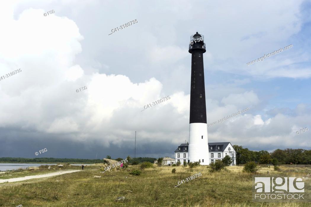 Stock Photo: Sõrve Lighthouse. Saaremaa. Estonia.