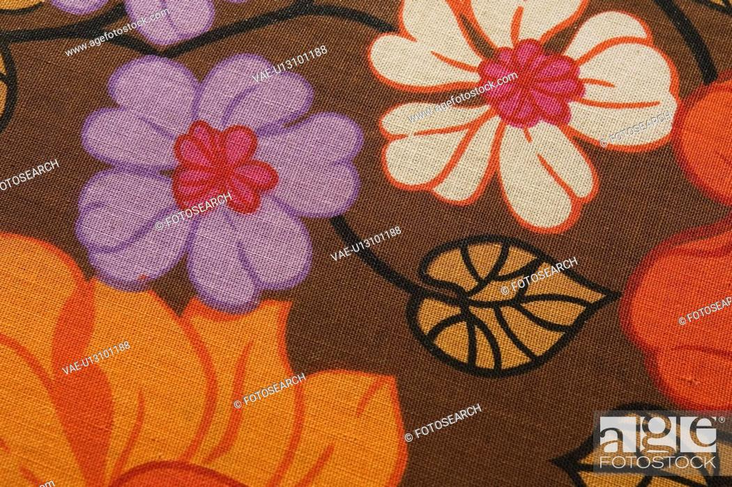Stock Photo: Crafted, Detail, Embroidery, Fabric.