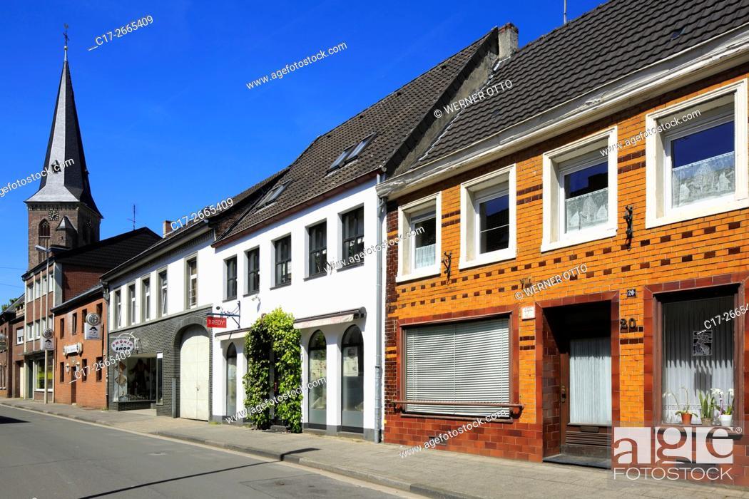 Stock Photo: Germany, Nettetal, Maas-Schwalm-Nette Nature Park, Schwalm-Nette Nature Park, Lower Rhine, Rhineland, North Rhine-Westphalia, NRW, Nettetal-Kaldenkirchen.