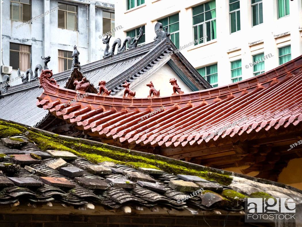 Stock Photo: China Xiapu Architecture.