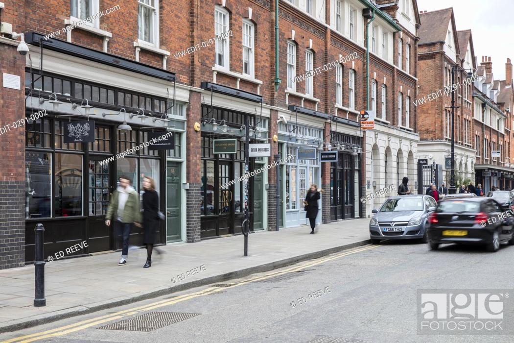 Imagen: Street view of Old Spitalfields Market. Old Spitalfields Market, London, United Kingdom. Architect: N/A, 2015.