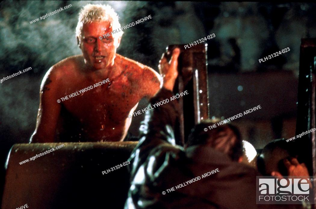 Stock Photo: Rutger Hauer, 'Blade Runner' 1982.