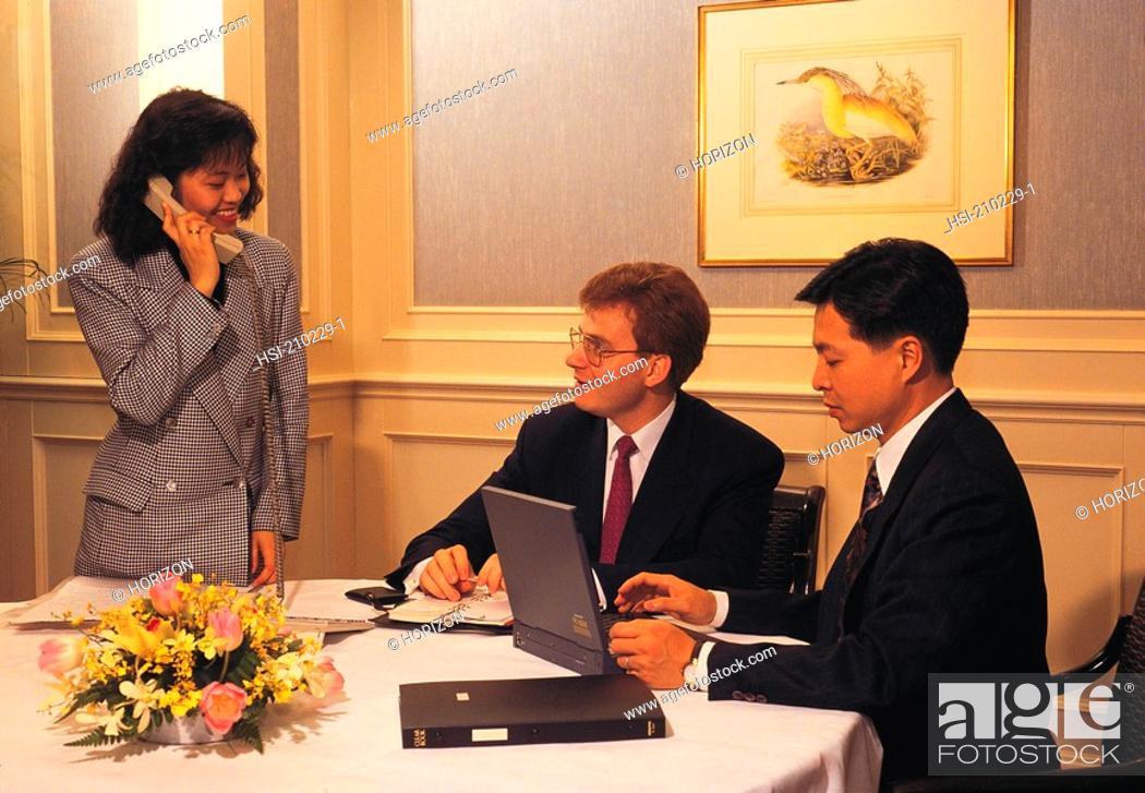 Stock Photo: Business, Senior executives,.