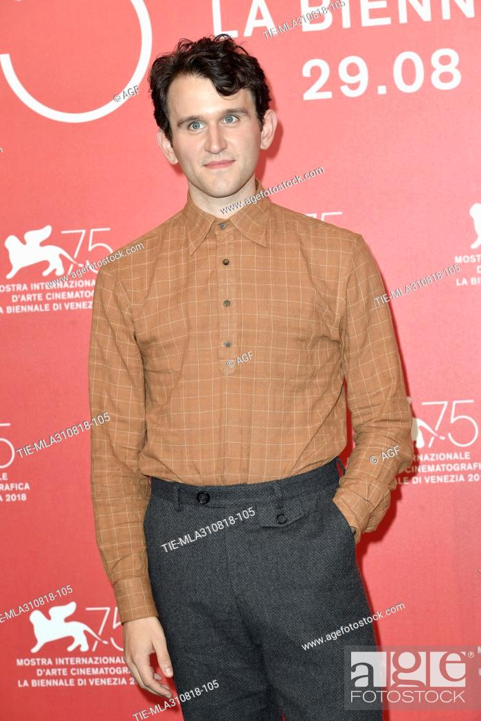 harry melling during the ballad of buster scruggs photocall stock photo picture and rights managed image pic tie mla310818 105 agefotostock 2