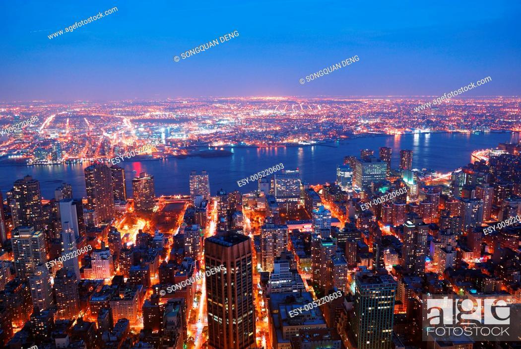 Stock Photo: New York City Manhattan.