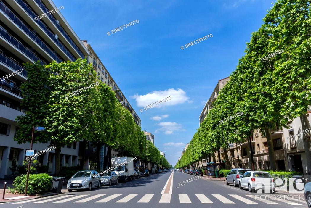Imagen: Paris, France, Charenton-Le-Pont, Suburbs, French Real Estate, Residential Buildings.