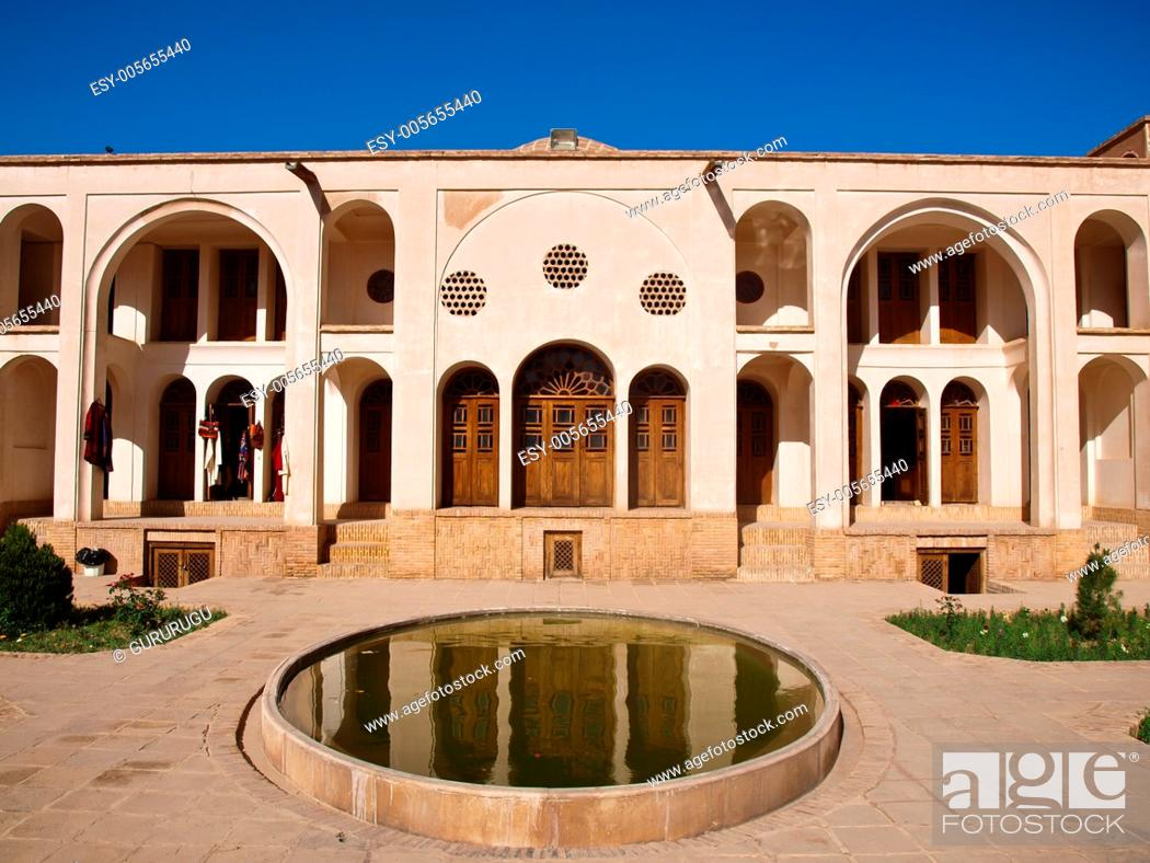 Stock Photo: Historic old house in Kashan, Iran.