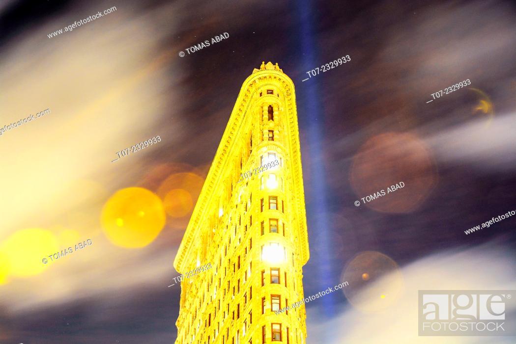 Imagen: Flat Iron Building, Midtown Manhattan, 5th Avenue and Broadway, New York City, USA.