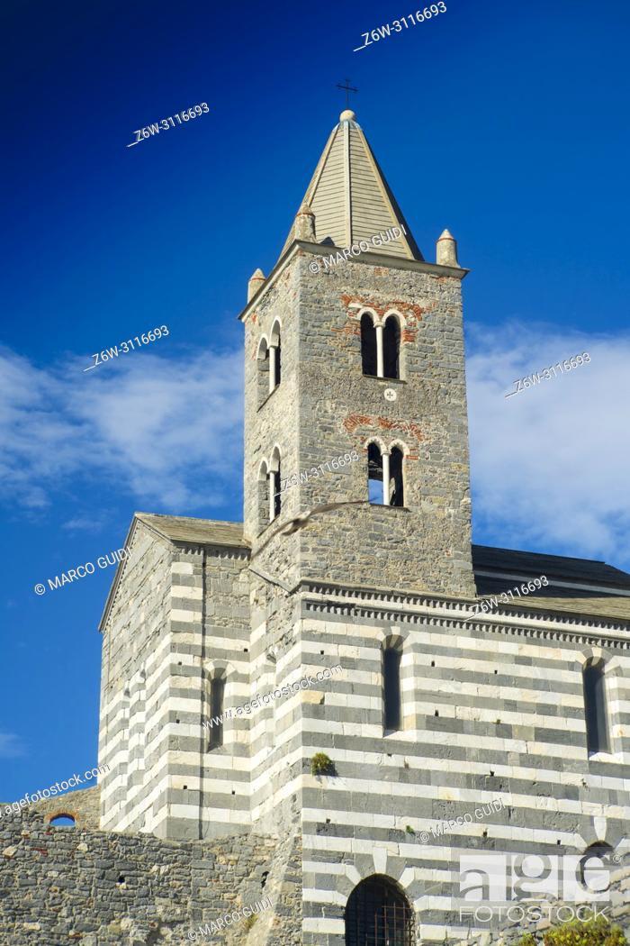 Imagen: View of the church of San Pietro in Portovenere.