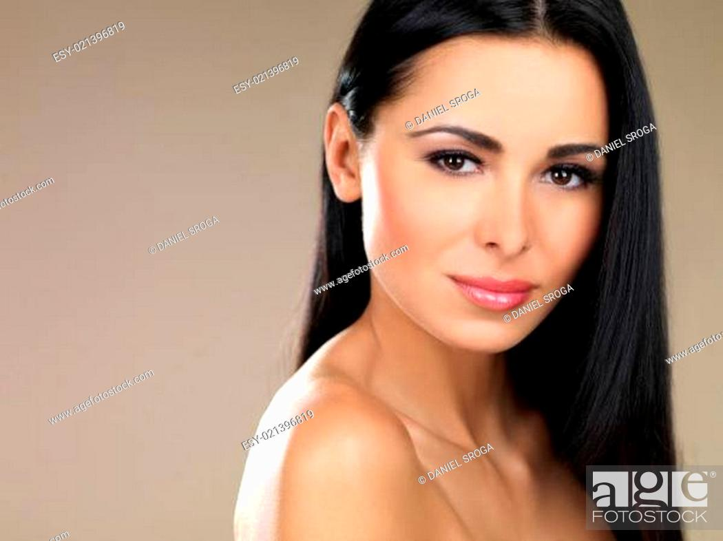 Stock Photo: Beauty on natural background.