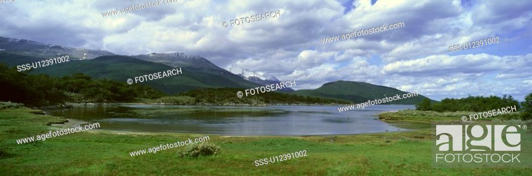 Stock Photo: Panoramic view of Argentina.