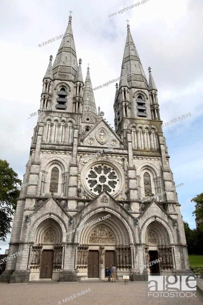 Stock Photo: Saint Finbarre's Cathedral, Cork, Munster province, Ireland.