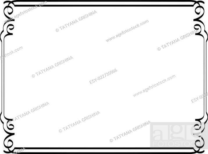 Vecteur de stock: Vintage vector frame.