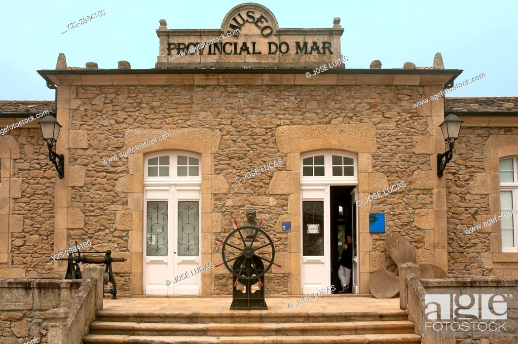 Stock Photo: Museum of the Sea, San Cibrao-Cervo, Lugo province, Region of Galicia, Spain, Europe.