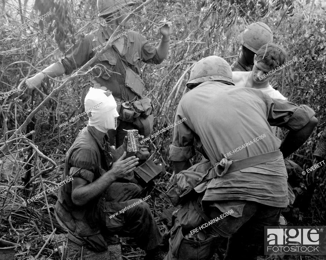 Vietnam War, members of Company 'D' ist Battalion, 501st