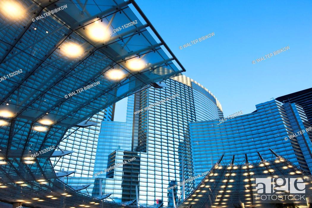 Stock Photo: USA, Nevada, Las Vegas, CityCenter, dawn.