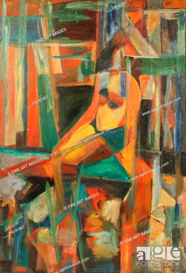 Seated Nudes Abstract Art