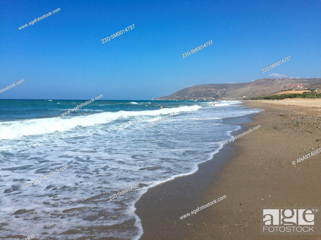 Imagen: Beach near Episkopi, prefecture of Rethymno, Crete.